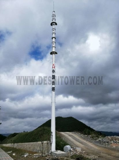 Landscape Tower Single Pipe Communication Tower