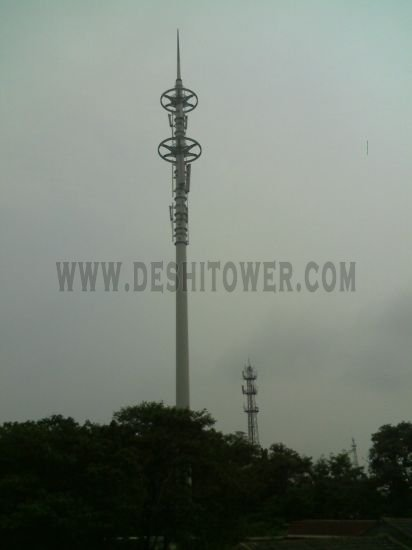Golden Wheel Type Landscape Tower Communication Tower