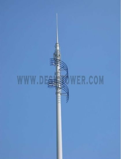Ribbon Type Landscape Tower Communication Tower