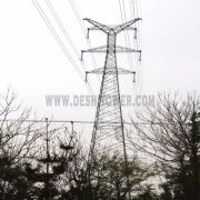 Environmental Long Life Durable 220kv Steel Transmission Line Tower